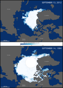 Climate change in the Arctic  Wikipedia