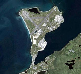 Naval Station Argentia - Image: Argentia airphoto