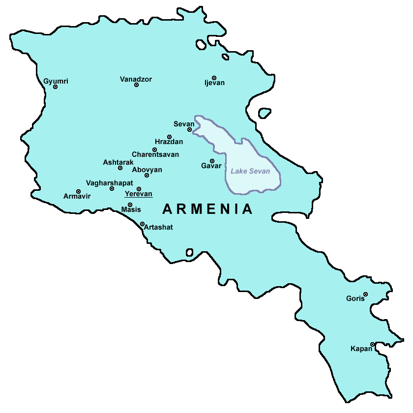 Armenia cities