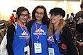 Armine Agayan, Reem Al-Kashif, Andrea Patricia Kleiman Wikimania 2017.jpg