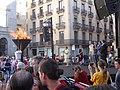 Arribada de la Flama del Canigó a la Plaça de Sant Jaume 2016 - 07.jpg