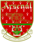 Logo de l'Arsenal Football Club de 1949 à 2002