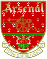 A version of the Arsenal crest used from 1949 to 2002.