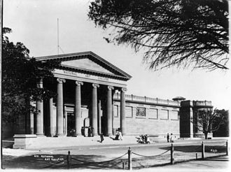 Art Gallery of New South Wales - The Art Gallery of New South Wales (c.1900)