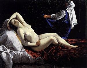 Danaë (Orazio Gentileschi) - Artemisia Gentileschi - Danaë