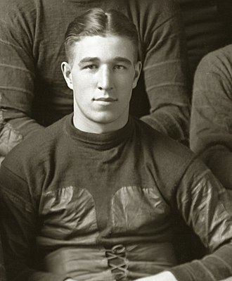 Arthur Karpus - Karpus from 1918 football team portrait