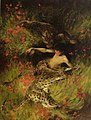 Arthur Wardle - A Satyr resting with Leopards.jpg