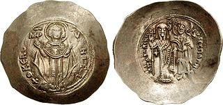 Aspron type of late Byzantine silver or billon coins