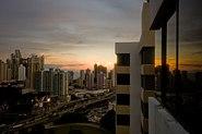 Atardecer en la ciudad de Panamá