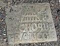 Auberchicourt - Cimetière de l'église Notre-Dame-de-la-Visitation, tombe de la famille Choque (07).JPG