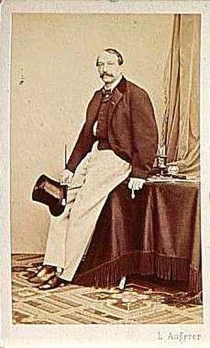 August Sicard von Sicardsburg - Image: August Sicard von Sicardsburg 496582