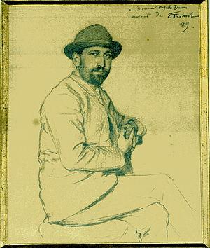 Auguste Daum - Auguste Daum by Émile Friant, fonds famille Daum