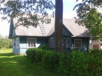 Augustinas Voldemaras - Augustinas Voldemaras's house in Dysna