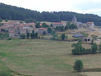 Auvers, Haute-Loire - A general view of Auvers