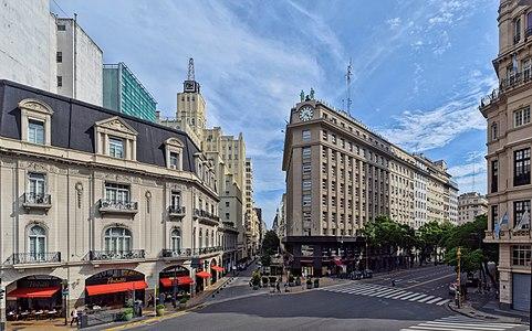 Avenida Presidente Julio A. Roca y calle Bolívar