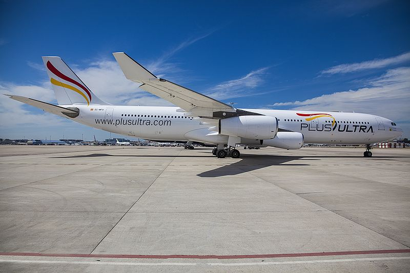 Resultado de imagen para plus ultra lineas aereas wiki