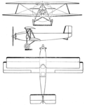 Avia BH-29 3-view Les Ailes June 21,1928.png
