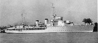 Aviso - A French aviso colonial of the Bougainville class