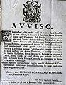Avviso pagamento dazi transito Finale Emilia Cadecoppi Panaro Modena 1770.jpg