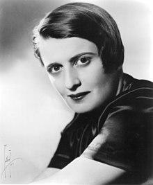 Monochrome photograph of a woman