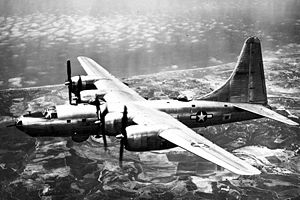 Consolidated B-32 Dominator - Consolidated B-32-1-CF, the first B-32 built after modification to Block 20 standard.