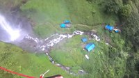File:BASE jumping in Indonesia. Waterfall Sipiso-Piso.webm