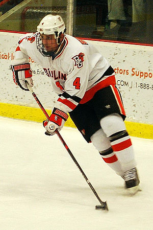 Bowling Green Falcons men's ice hockey - BG ice hockey player Mike Sullivan in 2011.