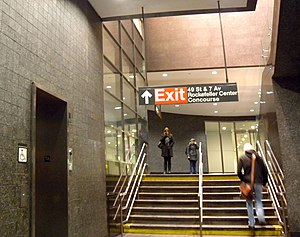 49th Street (BMT Broadway Line) - Passageway to Rockefeller Center