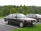 BMW 730i Mit Achtzylinder Heckansicht