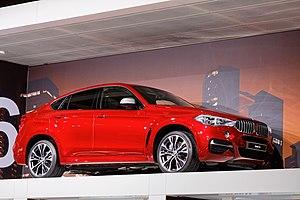 BMW X6 - Image: BMW X6 Mondial de l'Automobile de Paris 2014 001
