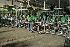 Music of Trinidad and Tobago - The BP Renegades, a steelpan orchestra