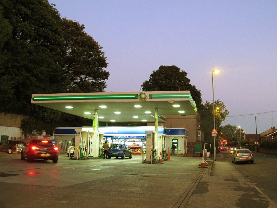 BP filling station, Pudsey Road (geograph 4680793)