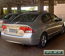 The Civic Has Been Sold In Brazil Since Late 2006 With A Flex Fuel Engine Capable Of Running On Either Gasoline Or Ethanol Any Blend Both