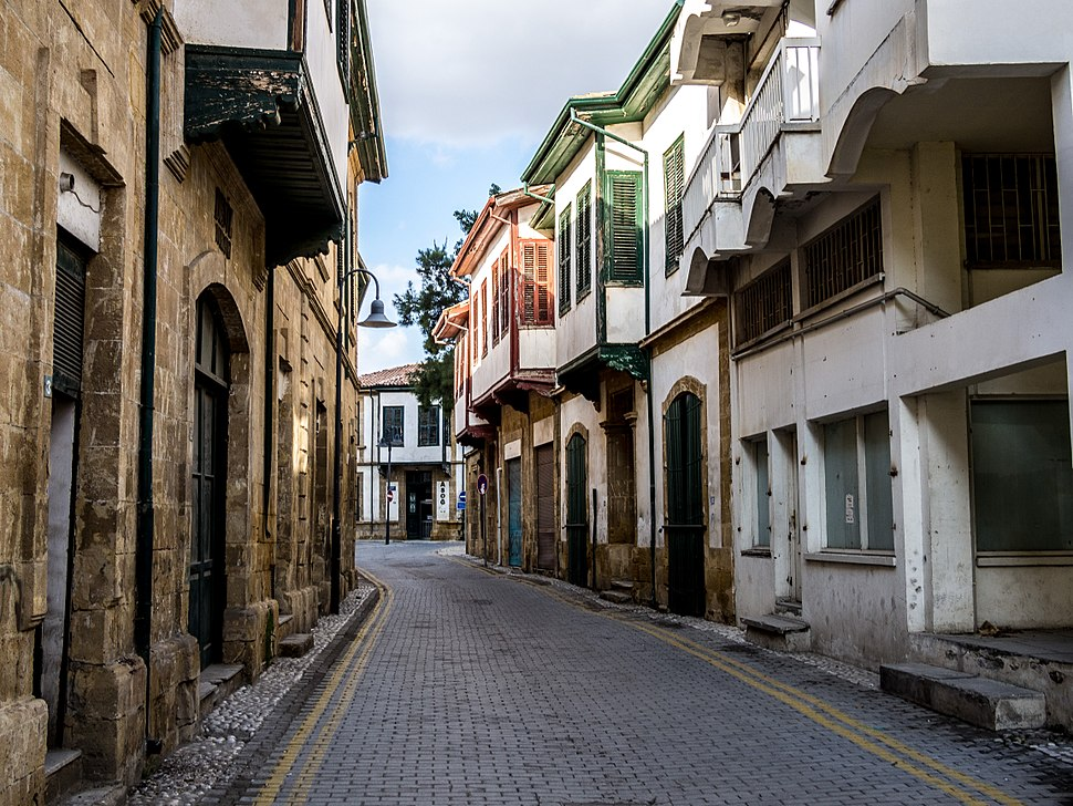 Backstreet in historical North Nicosia