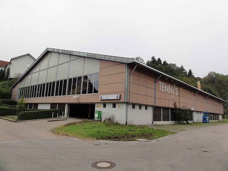 File:Bad Säckingen — Tennishalle Außenansicht.JPG