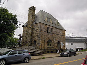 Gilbert H. Grosvenor Hall - As viewed from Chebucto Street