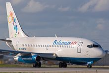 Bahamasair 737-200 in Miami.jpg