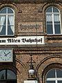 Bahnhof Hagenwerder alte Bahnhofsnamen.JPG