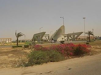 Bahria Town Karachi - Bahria Town Karachi main gate