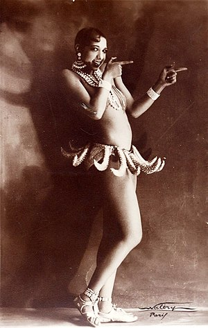 Josephine Baker in Banana Skirt from the Folie...