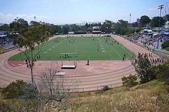 Balboa Stadium - Looking south in 2008