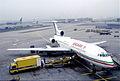Balkan Bulgarian Airlines Tupolev 154B; LZ-BTK@FRA;11.10.1995 (6161798187).jpg