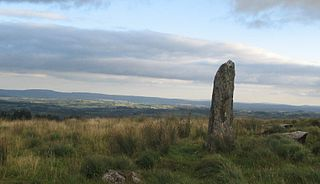 Menhir Large upright standing stone
