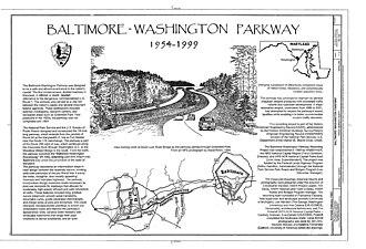 Baltimore–Washington Parkway - Baltimore–Washington Parkway 1954–1999: 40th anniversary (Historic American Engineering Record)