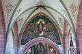 Baltringen St.-Nikolaus-Kirche Wandmalerei von Alois Fraidel Mariä Himmelfahrt 2010 08 01.jpg