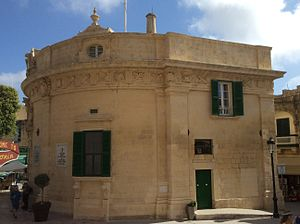 Banca Giuratale (Victoria, Gozo) - The Banca Giuratale as viewed from the north