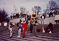 Band before Protest - New Orleans January 1991 01.jpg
