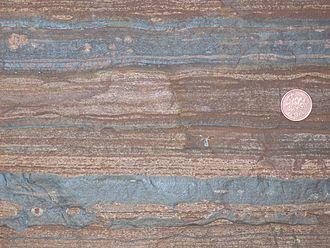 Geobiology - Banded iron formation (BIF), Hammersley Formation, Western Australia