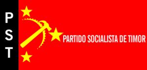 Socialist Party of Timor - Image: Bandeira do Partido Socialista de Timor