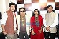 Bappa Lahiri, Bappi Lahiri, Swapna Patker, Sanjay Raut.jpg